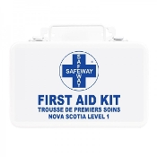 First Aid Kit, Nova Scotia Level 1, Metal