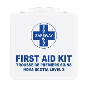 First Aid Kit, Nova Scotia Level 3, Metal