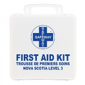 First Aid Kit, Nova Scotia Level 3, Plastic