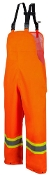 Rainwear, Hi-Visibility, Traffic Pants, Orange, Small