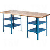 Extra Heavy-Duty Workbenches - Pedestal Benches