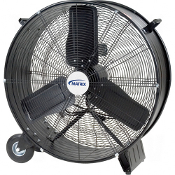Light Industrial Direct Drive Drum Fans