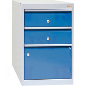 2-Drawer w/1-Door Cabinet