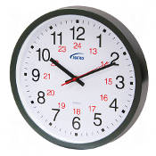 12/24  H Battery Operated Wall Clocks
