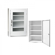 First Aid Kit, Metal Cabinet with Plexiglass Door