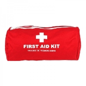 First Aid Kit, Nylon Cylindrical Bag, Large