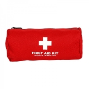 First Aid Kit, Nylon Cylindrical Bag, Small