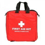 First Aid Kit, Padded Square Bag, Large