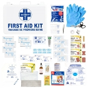 First Aid Kit, Ontario WSIB Level 1, Deluxe Metal
