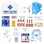 First Aid Kit, Ontario WSIB Level A, Deluxe Metal