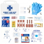 First Aid Kit, Ontario WSIB Level A, Deluxe Plastic