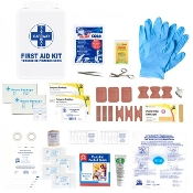 First Aid Kit, Ontario WSIB Section 16 (1,2,6), Deluxe Metal