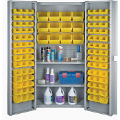 Deep Door Combination Bin Cabinets