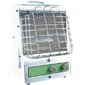 Portable Fan Forced/Radiant Utility Heaters