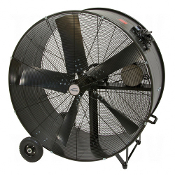 Heavy-Duty Fixed Belt Drive Drum Fan