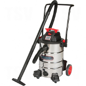 Industrial Wet/Dry Stainless Steel Vac