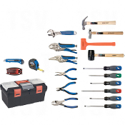 28-Piece Essential Tool Set with Steel Chest and Cart