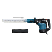 "1-3/4"" Rotary Hammer (SDS Max) with dust extraction attachment"